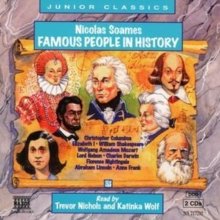 Famous People in History : v. 1, CD-Audio Book