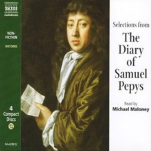 The Diary of Samuel Pepys : Selections, CD-Audio Book