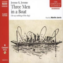 Three Men in a Boat, CD-Audio Book