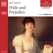 Pride and Prejudice, eAudiobook MP3 Book