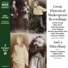 Great Historical Shakespeare Recordings, MP3 eaudioBook