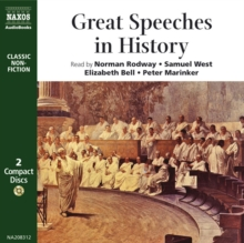 Great Speeches in History, MP3 eaudioBook