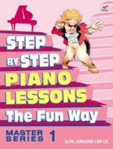 Step By Step to Piano Lessons Fun Way Master Series 1, Sheet music Book
