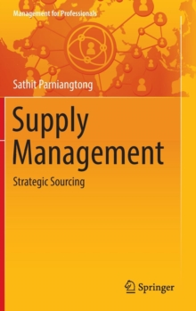 Supply Management : Strategic Sourcing, Hardback Book