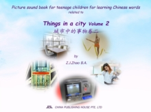 Picture sound book for teenage children for learning Chinese words related to Things in a city  Volume 2, EPUB eBook