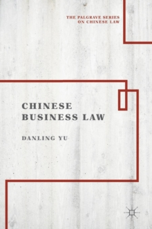 Chinese Business Law, Hardback Book