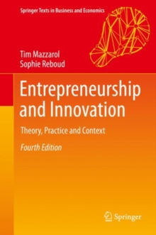Entrepreneurship and Innovation : Theory, Practice and Context, EPUB eBook