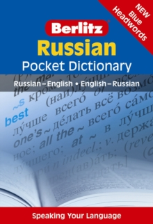 Berlitz: Russian Pocket Dictionary, Paperback Book