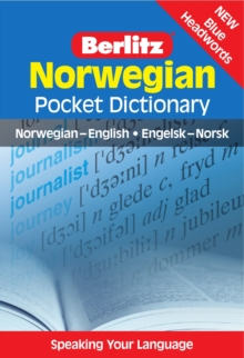 Berlitz Pocket Dictionary Norwegian, Paperback Book