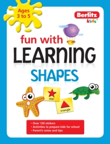 Berlitz Language: Fun with Learning: Shapes (3-5 Years), Paperback Book