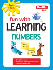 Berlitz Language: Fun with Learning: Numbers (4-6 Years), Paperback Book