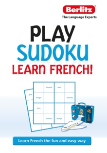 Berlitz Play Sudoku, Learn French, Paperback Book