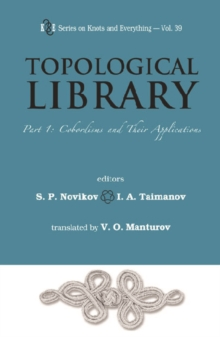 Topological Library - Part 1: Cobordisms And Their Applications, PDF eBook