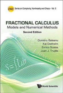 Fractional Calculus: Models And Numerical Methods, Hardback Book