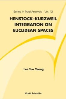 Henstock-kurzweil Integration On Euclidean Spaces, PDF eBook