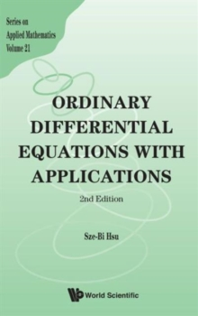 Ordinary Differential Equations With Applications (2nd Edition), Hardback Book