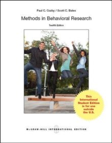 Methods in Behavioral Research, Paperback / softback Book