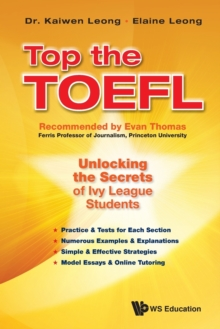 Top The Toefl: Unlocking The Secrets Of Ivy League Students, Paperback Book