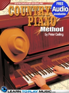 Country Piano Lessons : Teach Yourself How to Play Piano (Free Audio Available), EPUB eBook