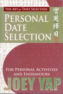 The Art of Date Selection: Personal Date Selection, Paperback / softback Book