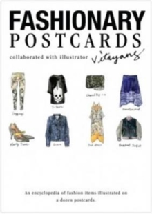 Fashionary Postcards : Illustrated by Vita Yang, Other printed item Book