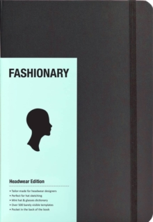 Fashionary Headwear Sketchbook A5, Novelty book Book