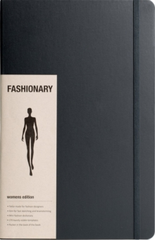 Fashionary Pro Womens Sketchbook A4, Other printed item Book
