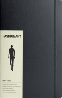 Fashionary Pro Mens Sketchbook A4, Other printed item Book