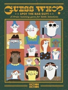 Guess Who? Spot The Bad Guy! : A brain-twisting game for little detectives, Cards Book