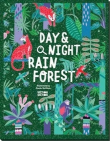Day & Night: Rainforest : Explore the world around-the-clock, Hardback Book