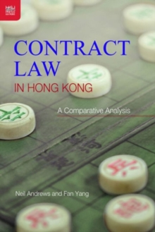 Contract Law in Hong Kong - An Introductory Guide, Paperback Book
