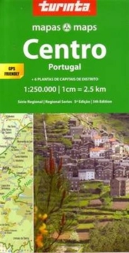 Central Portugal : Centro Portugal, Sheet map, folded Book