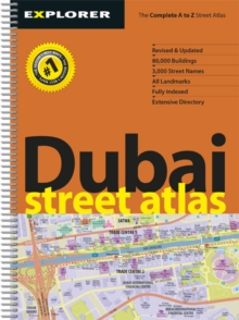 Dubai Street Atlas, Sheet map, folded Book