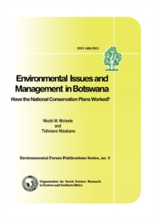 Environmental Issues in Botswana : A Handbook, Paperback Book