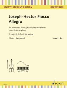 ALLEGRO G MAJOR, Paperback Book