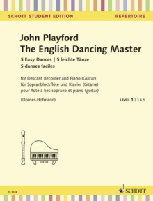 ENGLISH DANCING MASTER, Paperback Book