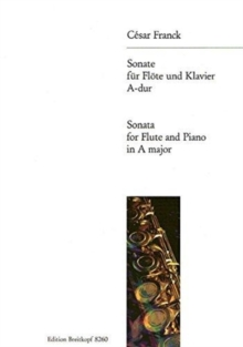 SONATA IN A MAJOR FLTE UND KLAVIER,  Book