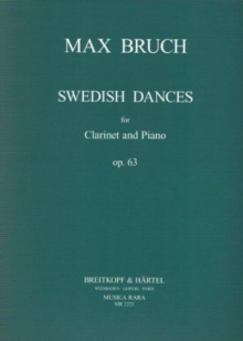 SWEDISH DANCES OP63 OP63 KLARINETTE UND,  Book