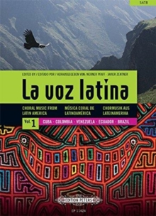 LA VOZ LATINA CHORAL MUSIC FROM LATIN, Paperback Book
