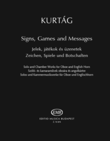 SIGNS GAMES & MESSAGES OBOEENGLISH HORN, Paperback Book