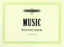 MUSIC WRITING BOOK LANDSCAPE 10 STAVE,  Book