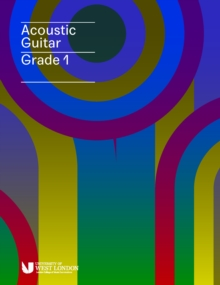 London College of Music Acoustic Guitar Handbook Grade 1 from 2019, Paperback Book