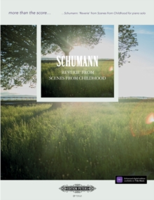SCHUMANN REVERIE FROM SCENSE FROM CHILDH, Paperback Book