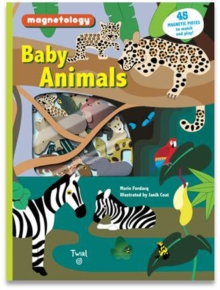 Magnet Baby Animals, Hardback Book